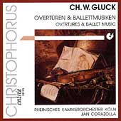 Gluck: Overtures and Ballet Music / Corazolla