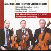 Mozart & Beethoven String Trios / Ehrenfellner, violin; Muller, viola; Skocic, cello