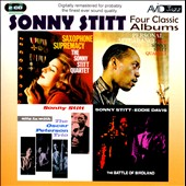 Sonny Stitt: Four Classic Albums: Sax Supremacy/Personal Appearance/Sits in with the Oscar Peterson Trio/Battle of Birdland