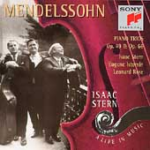 Isaac Stern - A Life In Music - Mendelssohn: Piano Trios