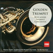 Golden Trumpet: The Best-Loved Trumpet Concertos / Maurice Andre, Marriner/Academy of St. Martin in the Fields