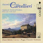 Cartellieri: Concertos for Clarinet and Orchestra / Klöcker