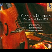 Francois Couperin: Pieces de Violes, 1728 / Jordi Savall, Ton Koopman, Ariane Maurette