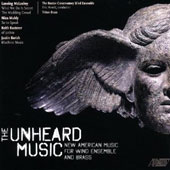 Unheard Music - Music for winds by McLoskey, Muhly, Kusterer, Barish / Boston Conservatory Winds