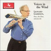 Leonard Garrison (flute): 'Voices in the Wind' - Works by Takemitsu, Stockhausen, Clarke, Sollberger, et al. / Leonard Garrison, flute, alto flute, piccolo