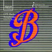 C.P.E. Bach: Symphonies / Orchestra of the Age of Enlightenment; Rebecca Miller
