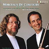 Morceaux de Concours pour Fl&#251;te et Piano / Flury, Wegmann