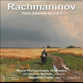 Rachmaninov, Vol. 2: Piano Concertos Nos. 2 & 4 / Sequeira Costa, piano; Christopher Seaman, Royal PO