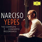 Narciso Yepes: The Complete Concerto Recordings - Concertos of Vivaldi through Giuliana, Rodrigo, Villa-Lobos, Castelnuovo-Tedesco, Ohana to Ruiz-Pipó / (rec. 1969 - 1979) [5 CDs]