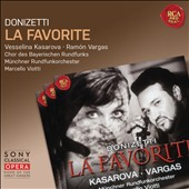 Gaetano Donizetti (1797-1848): La Favorite (The Favorite), opera / Vesselina Kasarova, mezzo soprano; Ramon Vargas, tenor; Bavarian Radio Choir, Munich RO, Marcello Viotti