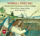 Advent & Christmas Choral Works / Lisa Hansen, flute; Jordan Dodson, guitar; Robert Quinney, New College Oxford Choir; Max Lifchitz, The North/South Chamber Orchestra