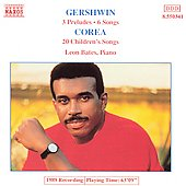 Gershwin: Preludes, Songs;  Corea: Children's Songs / Bates