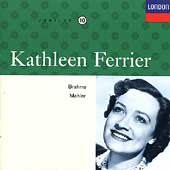 Kathleen Ferrier Edition Vol 10- Brahms, Mahler