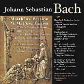 Bach: St Matthew Passion / Lehmann, Fischer-Dieskau, et al