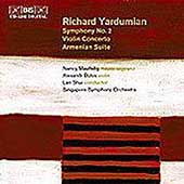 Yardumian: Symphony no 2, Violin Concerto, etc / Shui, et al