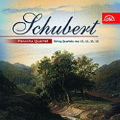 Schubert: String Quartets no 10, 12, 13, 15 /Panocha Quartet