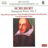 Deutsche Schubert-Lied-Edition 14 - European Poets Vol 2