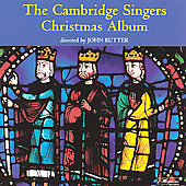 The Cambridge Singers Christmas Album / John Rutter, Varcoe