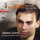 Haydn: Piano Sonatas;  Beethoven: Piano Concerto / Lazic