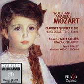 Mozart: Clarinet Quintet, etc / Moragu&egrave;s, Braley, Prazak SQ