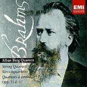 Brahms: String Quartets Opp 51 & 67 / Alban Berg Quartett
