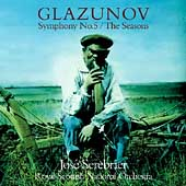 Glazunov: Symphony no 5, The Seasons / Serebrier, et al