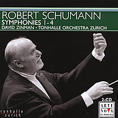 Schumann: Symphony no 1-4 / Zinman, et al