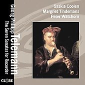 Telemann: The Seven Sonatas for Recorder / Coolen, et al
