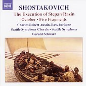 Shostakovich: Execution of Stepan Razin / Schwarz, et al