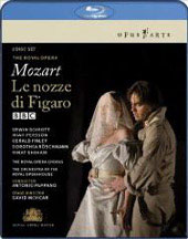 Mozart: The Marriage of Figaro / Pappano/Royal Opera House, Schrott, Persson, Finley [2 Blu-Ray]