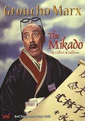 Gilbert & Sullivan: 'The Mikado' / Groucho Marx, Helen Traubel, Stanley Holloway, Dennis King, Barbara Meister et al. (1960 telecast + interviews, bonus features) [DVD]