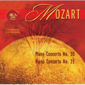 Mozart: Piano Concertos Nos. 20 & 21 / Kirschnereit