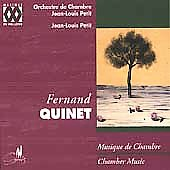 Quinet: Chamber Music / Jean-Louis Petit