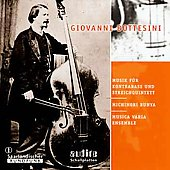 Bottesini: Music for Double Bass & String Quartet / Bunya