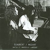 Schubert, Mozart / Katia et Marielle Lab&egrave;que