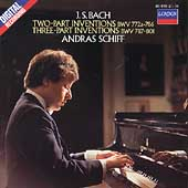 Bach: Two & Three Part Inventions / Andras Schiff