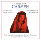 Paperback Opera - Bizet: Carmen / Dervaux, Madeira, Filacuridi, Roux, Geay, et al