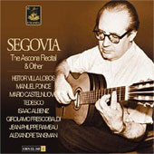 The Ascona Recital & Other / Andrés Segovia