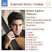 Laureate Series, Guitar - Rafael Aguirre Mi&ntilde;arro