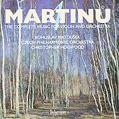 Martinu: Complete Music for Violin and Orchestra Vol 4 / Hogwood, Matousek, Czech PO