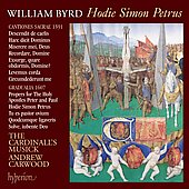 The Byrd Edition Vol 11 - Byrd: Hodie Simon Petrus / Carwood, et al