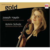 Reference Gold - Haydn: Violin Concertos / Scholz, Berlin Chamber Orchestra