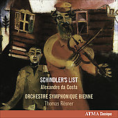 Williams: Schindler's List Suite;  Bloch: Suite h&eacute;bra&iuml;que, etc / da Costa, R&ouml;sner, Pantillon, et al