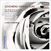Schönberg, Webern, Berg: The Waltz Arrangements / Becker, Linos Ensemble