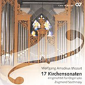 Mozart: 17 Church Sonatas / Zsigmond Szathmary