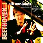 Beethoven: Piano Concertos Nos. 1 & 2 [Hybrid SACD]