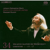 Bach: Cantatas 1, 126, 127 [SACD]