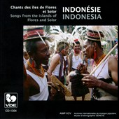 Various Artists: Songs from the Islands of Indonesia