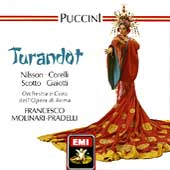 Puccini: Turandot / Molinari-Pradelli, Nilsson, Corelli
