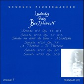 Georges Pludermacher / Beethoven Piano Sonatas, Vol. 7